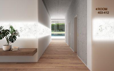 Una superficie solida dalle infinite possibilità di design