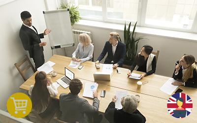 Meeting e presentazioni in inglese in contesto multiculturale